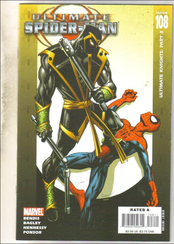 Ultimate Spider-man #108 comic book near mint 9.4