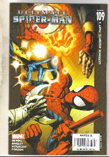 Ultimate Spider-man #109 comic book near mint 9.4