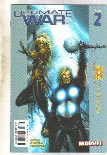 Ultimate War #2 comic book very fine 8.0
