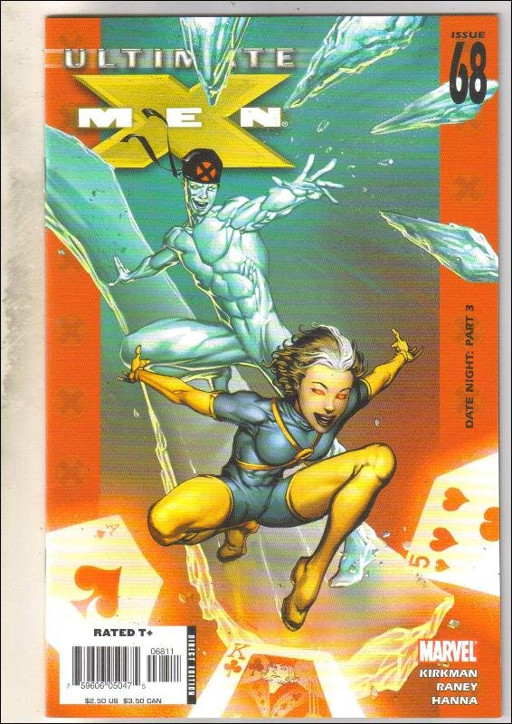 Ultimate X-men #68 comic book near mint 9.4