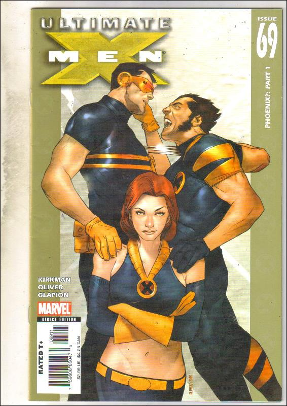 Ultimate X-men #69 comic book near mint 9.4