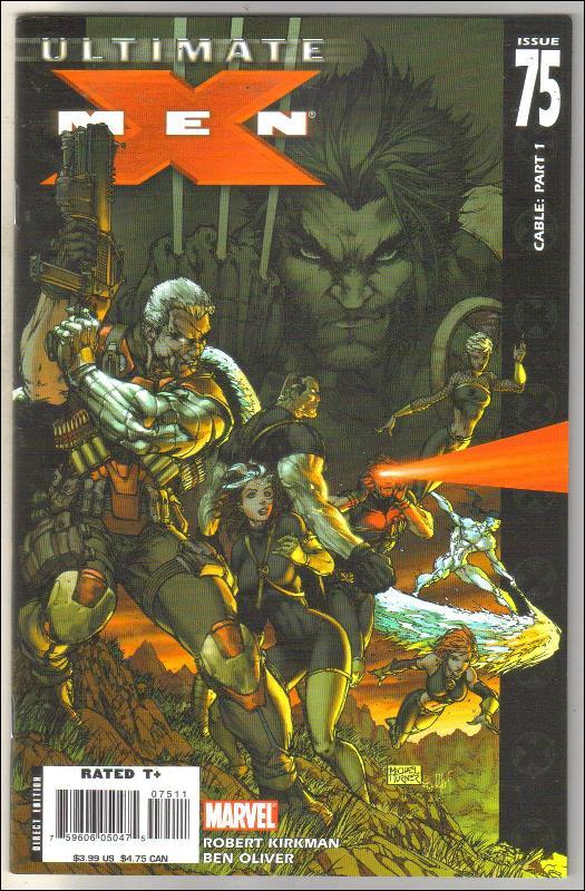 Ultimate X-men #75 comic book mint 9.8
