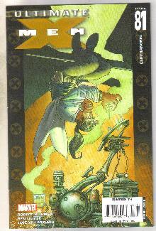 Ultimate X-men #81 comic book near mint 9.4
