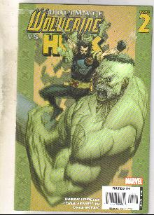 Ultimate Wolverine vs. Hulk #2 comic book near mint 9.4