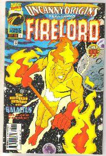Uncanny Origins #4 featuring Firelord comic book very fine 8.0