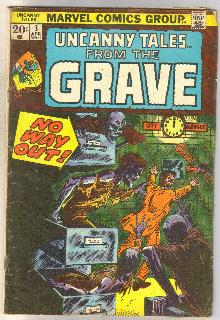 Uncanny Tales From the Grave #3 comic book good/very good 3.0