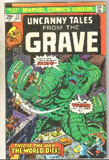 Uncanny Tales from the Grave #12 comic book very good plus 4.5