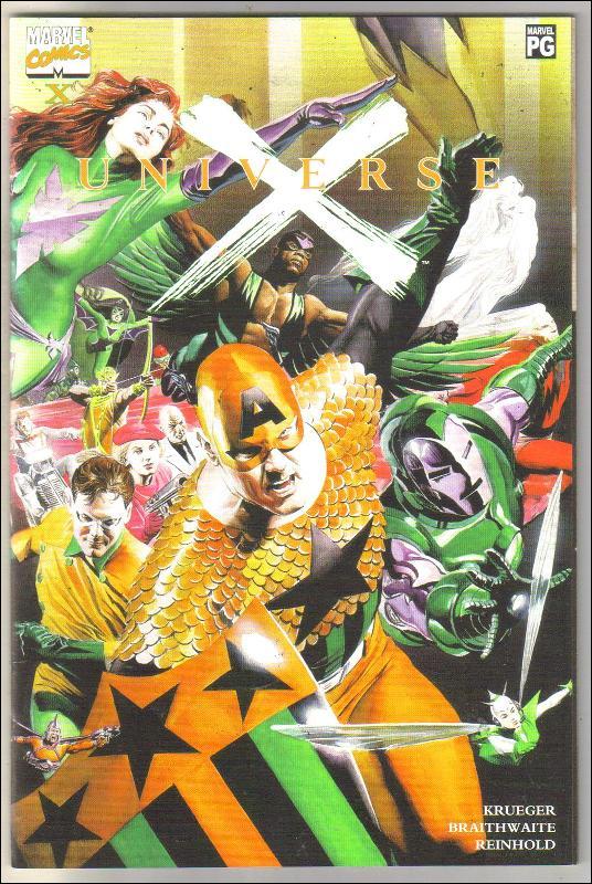 Universe X  issue X comic book mint 9.8