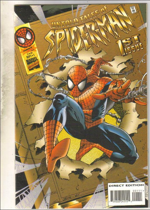 Untold Tales of Spider-man #1 comic book near mint 9.4
