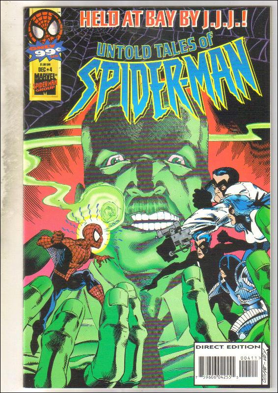 Untold Tales of Spider-man #4 comic book near mint 9.4
