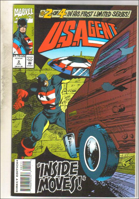 U.S. Agent #2 comic book near mint 9.4