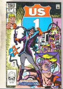 U.S. 1 #2 comic book near mint 9.4