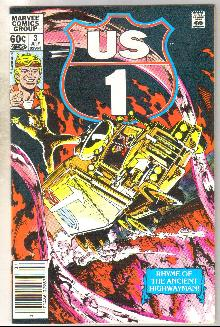 U.S. 1 #3 comic book near mint 9.4