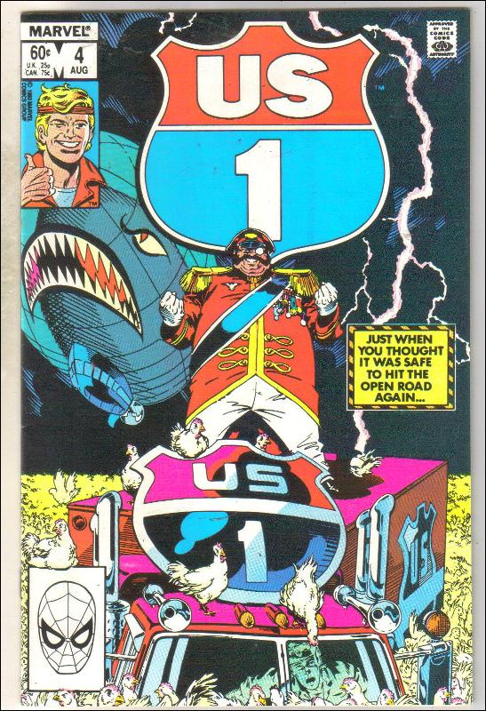 U.S. 1 #4 comic book near mint 9.4