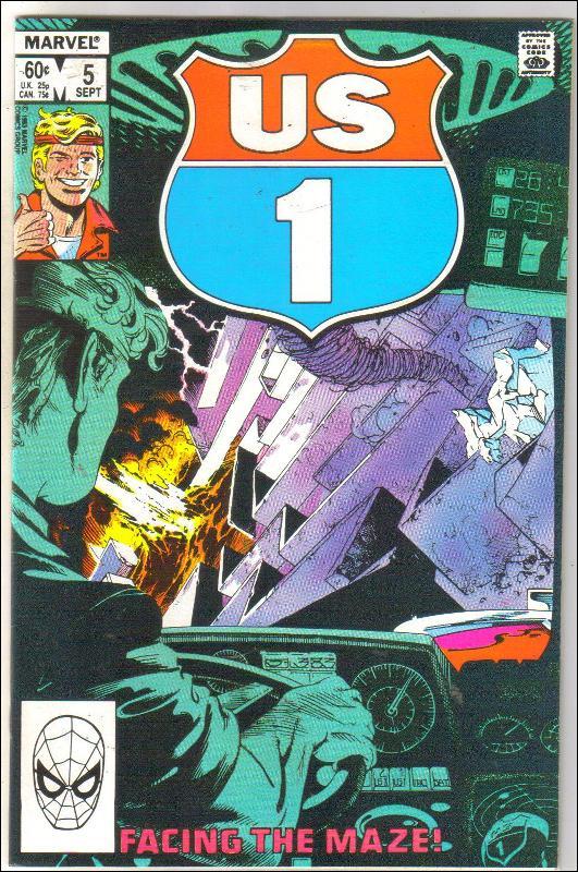 U.S. 1 #5 comic book near mint 9.4