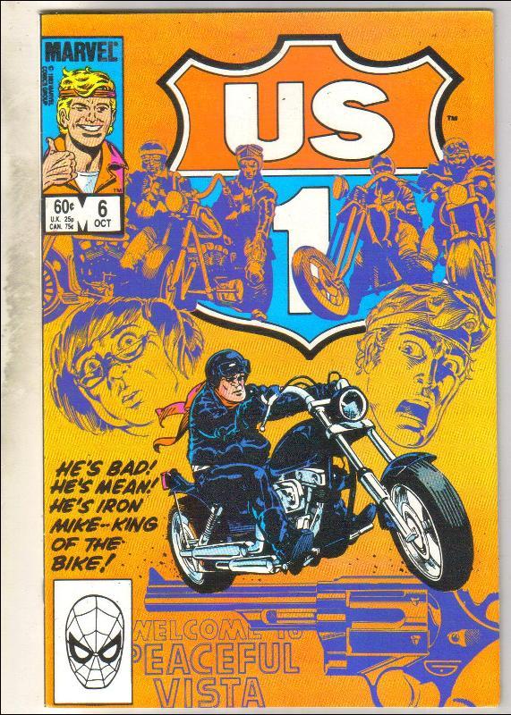 U.S. 1 #6 comic book near mint 9.4