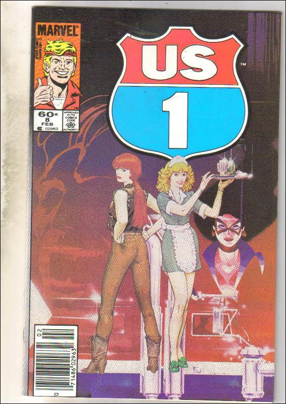 U.S. 1 #8 comic book near mint 9.4