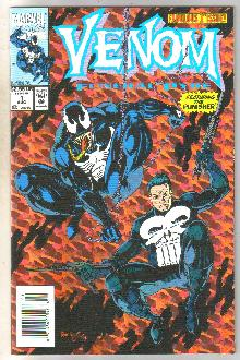 Venom Funeral Pyre #1 comic book near mint 9.4