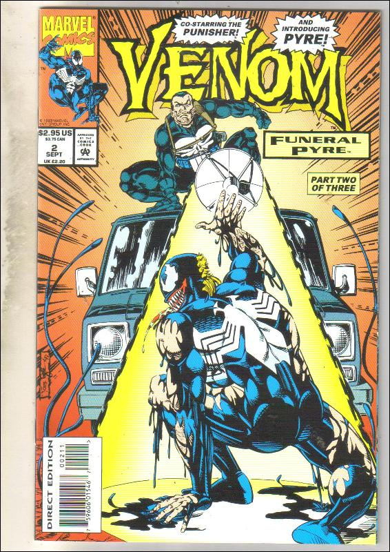 Venom Funeral Pyre #2 comic book  mint 9.8