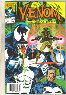 Venom Funeral Pyre #3 comic book near mint 9.4