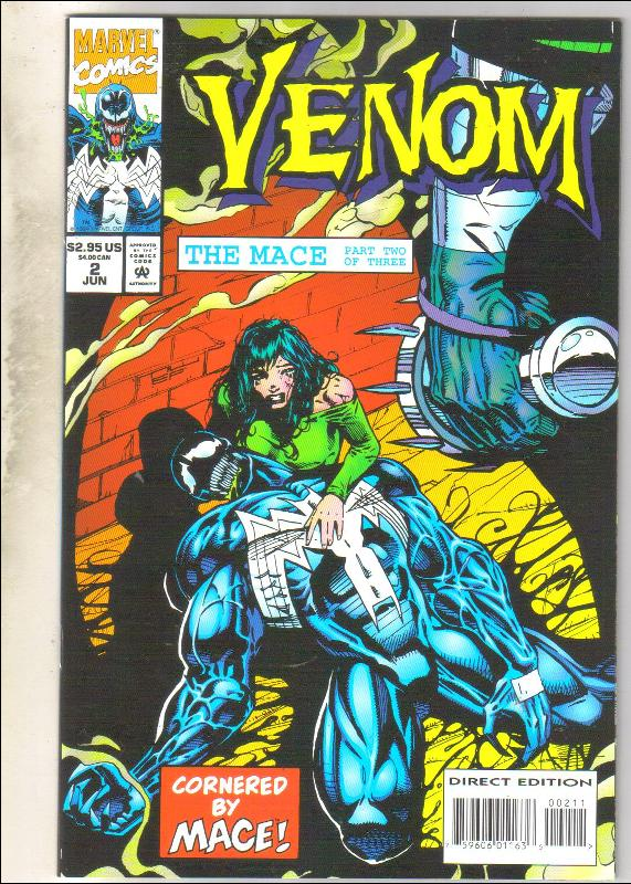 Venom The Mace #2 comic book  mint 9.8