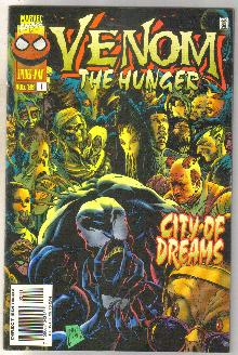Venom The Hunger #1 comic book near mint 9.4