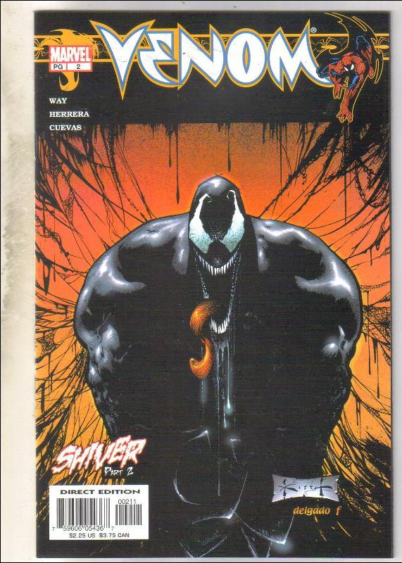 Venom #2 comic book  mint 9.8