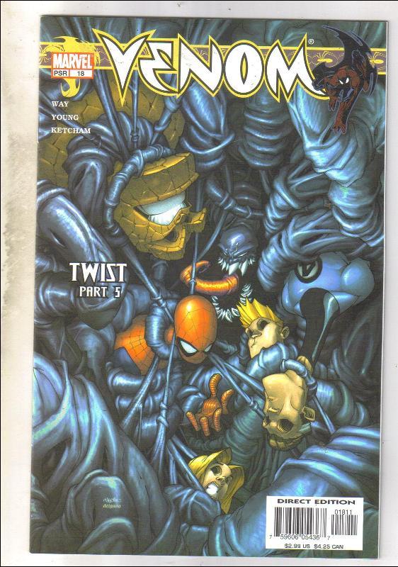 Venom #18 comic book  near mint 9.4