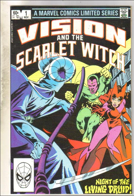 Vision and the Scarlet Witch #1 comic book near mint 9.4