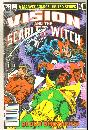 Vision and the Scarlet Witch #3 comic book near mint 9.4