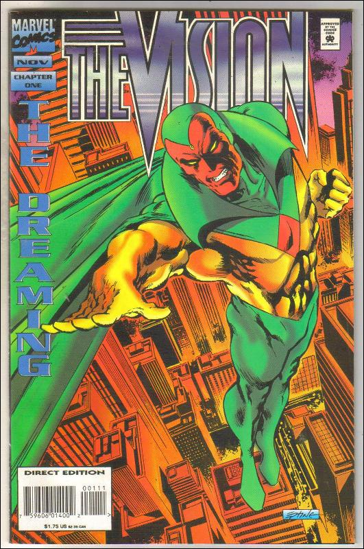 The Vision #1 comic book near mint 9.4