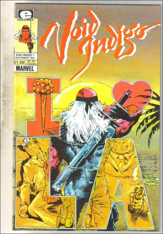 Void Indigo #1 comic book mint 9.8