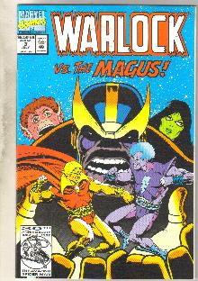 Warlock #3 comic book near mint 9.4