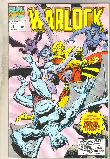 Warlock #4 comic book near mint 9.4