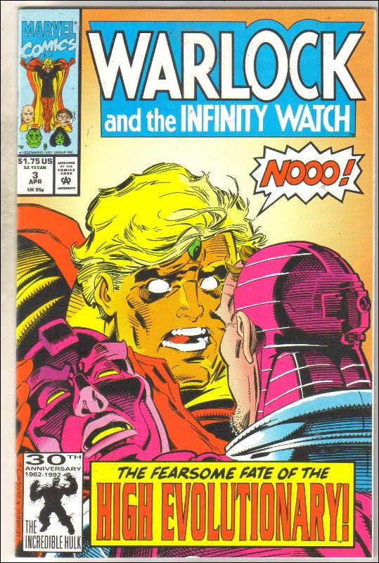 Warlock and the Infinity Watch #3 comic book near mint 9.4