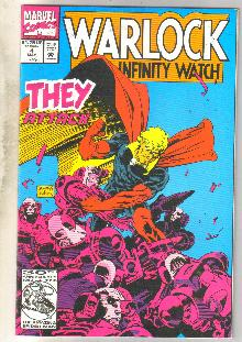 Warlock and the Infinity Watch #4 comic book near mint 9.4