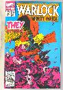Warlock and the Infinity Watch #4 comic book near mint 9.4