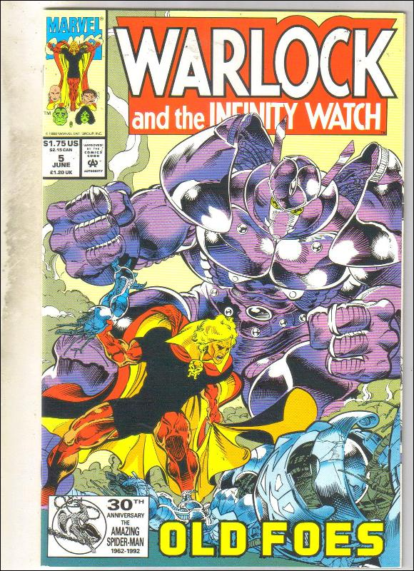 Warlock and the Infinity Watch #5 comic book mint 9.8