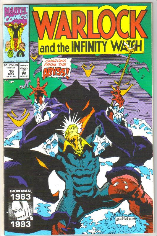 Warlock and the Infinity Watch #16 comic book near mint 9.4