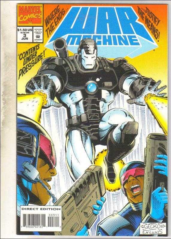 War Machine #3 comic book mint 9.8
