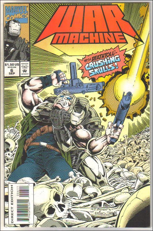War Machine #6 comic book near mint 9.4