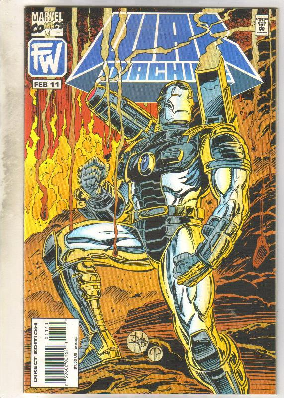 War Machine #11 comic book near mint 9.4