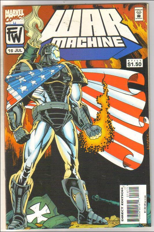 War Machine #16 comic book near mint 9.4
