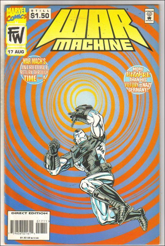 War Machine #17 comic book very fine 8.0