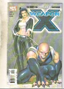 Weapon X #4 comic book mint 9.8