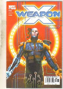 Weapon X #5 comic book near mint 9.4