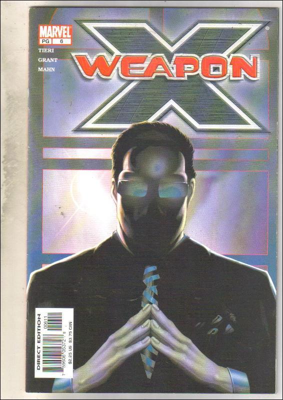 Weapon X #6 comic book near mint 9.4