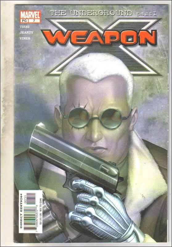 Weapon X #7 comic book near mint 9.4