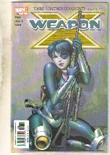 Weapon X #8 comic book fine 6.0