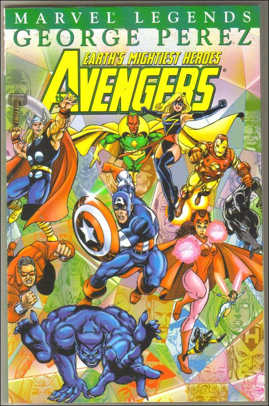 Avengers Legends #3 trade paperback mint 9.8